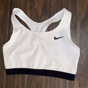 Nike sports bra large